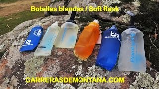 Soft Flask Salomon Raidlight WAA Como elegir botella blanda por Mayayo