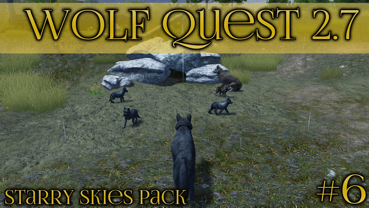 Download Birth of the First Starry Sky Wolf Pups!! 🐺 Wolf Quest 2.7 - Starry Skies Pack 🐺 Episode #6