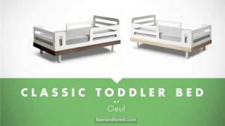 Oeuf Classic Toddler Bed - Checkout The Classic Toddler Bed At Fawnnadforest.com