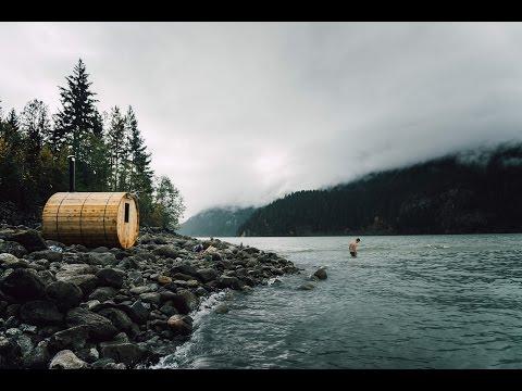 DIY Cedar Barrel Sauna: Whistler, Canada