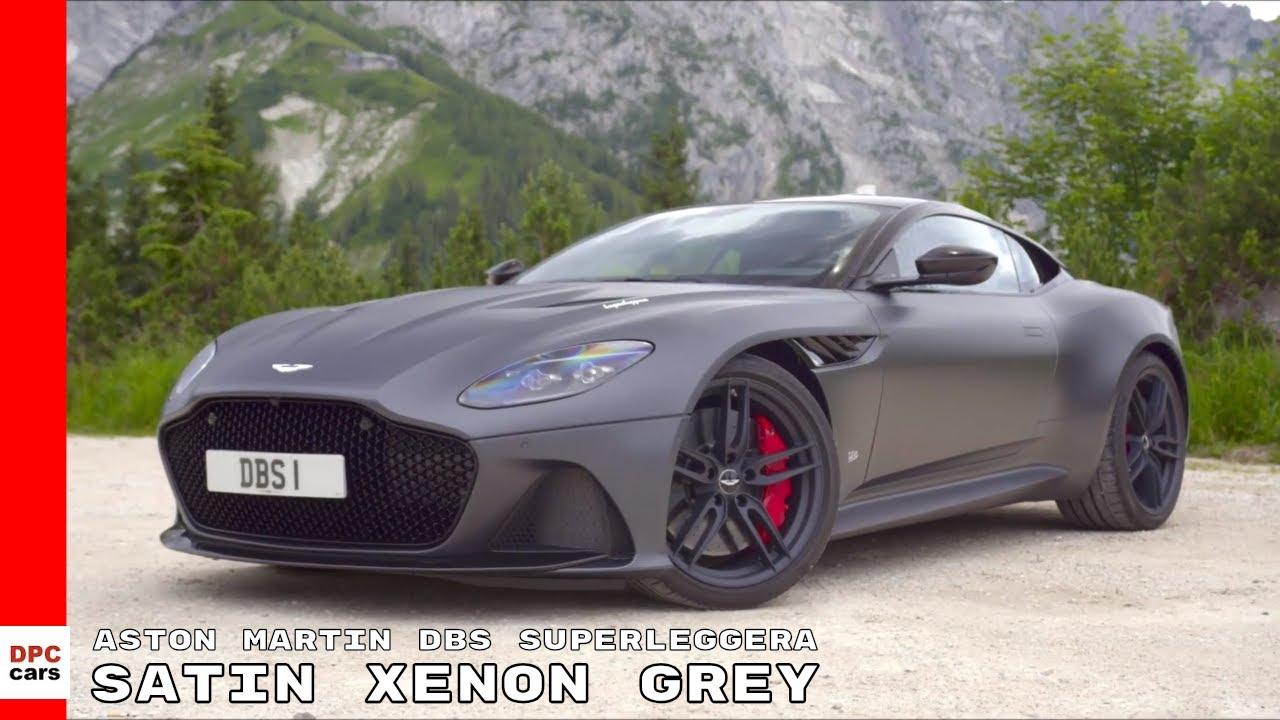 Aston Martin Dbs Superleggera Satin Xenon Grey 2019 Youtube