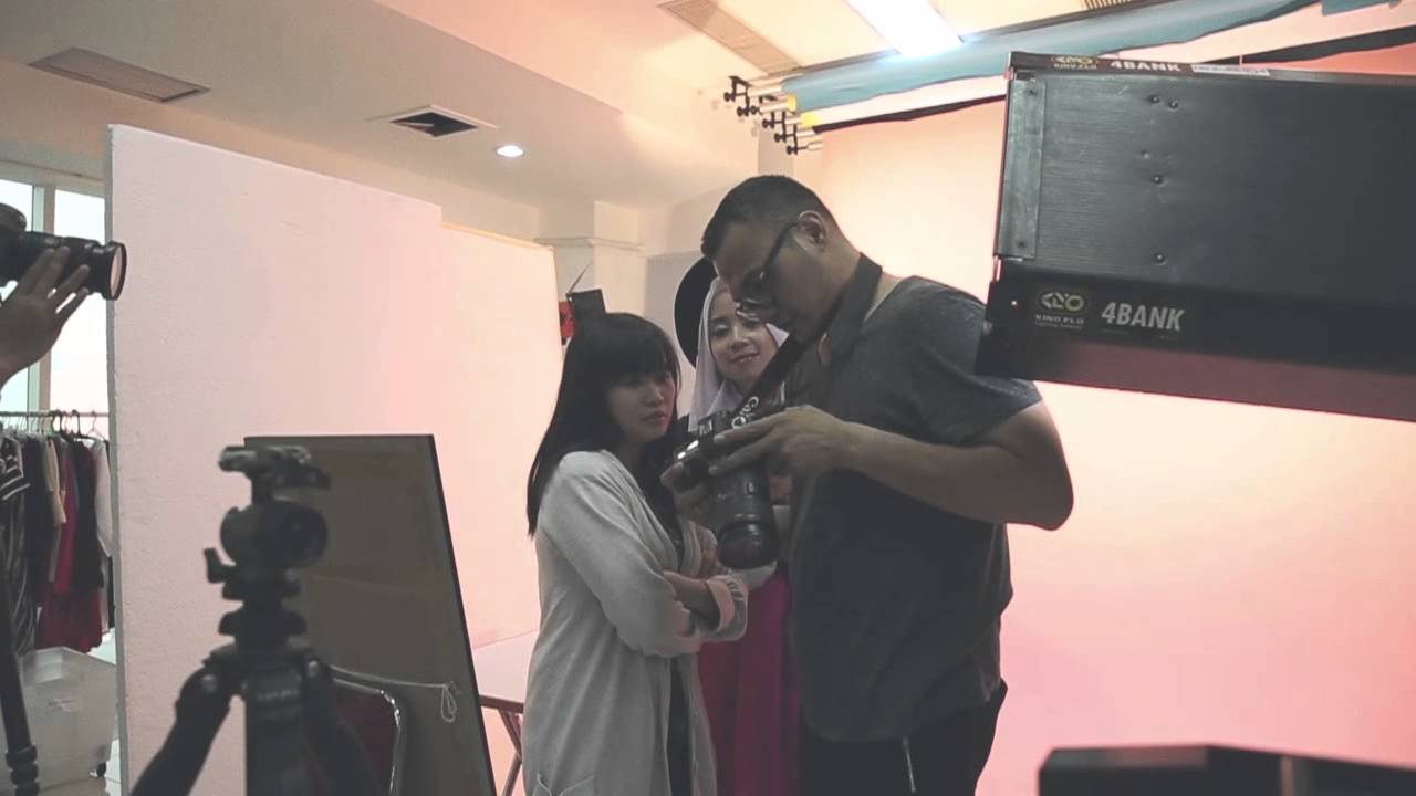 Behind The Scene Video Hijab Tutorial With Qonitah Al Jundiah