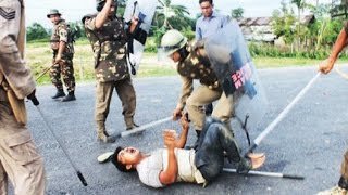 Fresh firing by police in Golaghat district in Assam