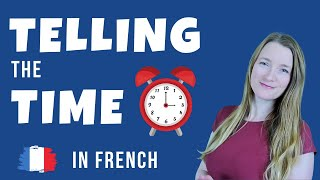 Telling time in French - What time is it?