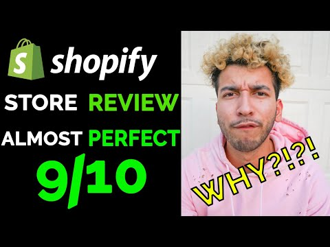 Shopify Store Review - The ALMOST Perfect Store - 9/10 | HONEST Review of a Dropshipping Store thumbnail