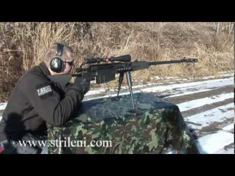 Zastava M93 Black Arrow 50 Bmg Youtube