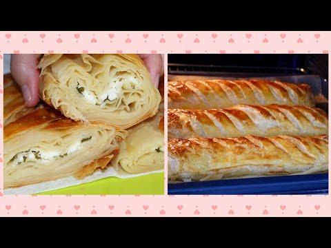 #recette-#ramadan-pain-feuilletÉ-au-fromage-sans-levure-👌-super-simple-a-faire