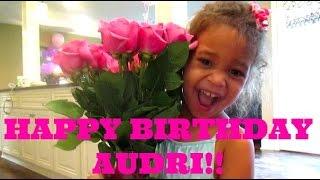 CUTEST LITTLE BIRTHDAY GIRL!