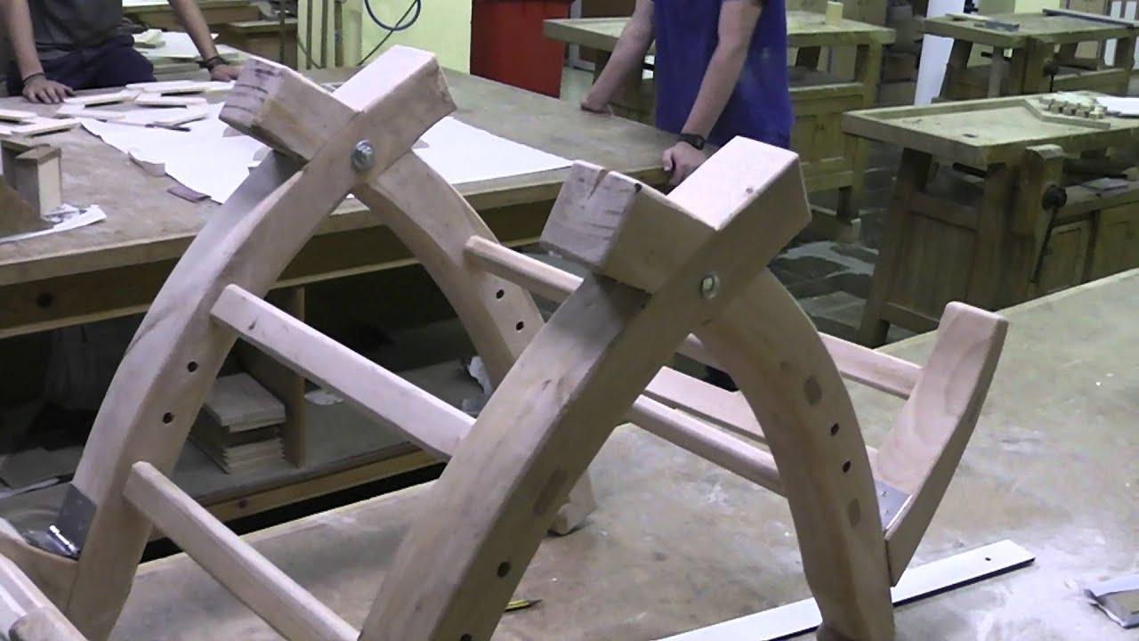 Construir apero para burro 13 youtube for Sillas para caballos