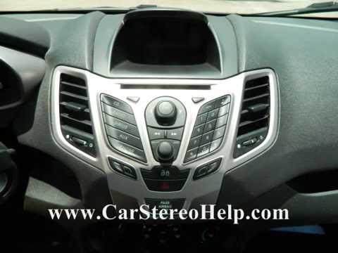 ford fiesta stereo removal 2011 2013 youtube. Black Bedroom Furniture Sets. Home Design Ideas