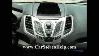 Ford Fiesta Stereo Removal 2011 - 2013