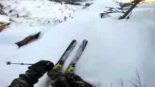 Сумасшедший лыжник / Crazy skier /