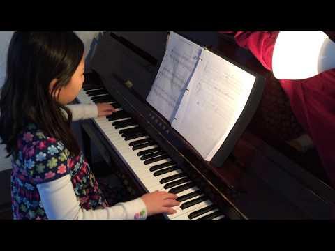 Piano: The Mouse in the grandfather clock. Edmonton, Alberta
