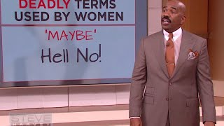 Deadly words used by women || STEVE HARVEY