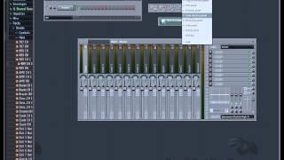 FL Studio - Налаштування панелі інструментів