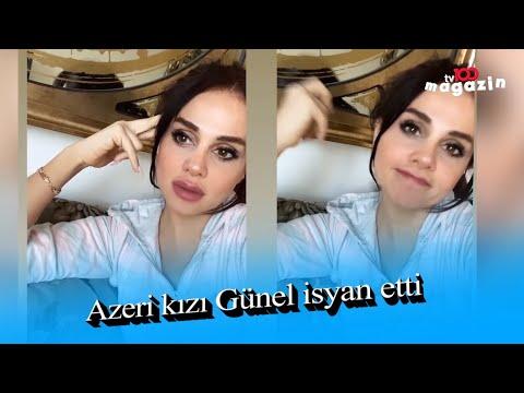 Azeri kızı Günel \