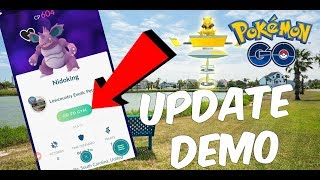Pokemon GO | 0.69 Update Demonstration | Feeding Berries Remotely + APK Mine Info