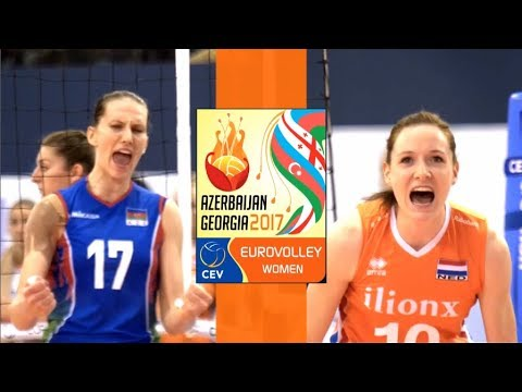 SEMI-FINAL Highlights | NETHERLANDS vs AZERBAIJAN | CEV Wome