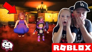 AT BUDDY HAUNCHES-I DARE YOU | Daddy and Barunka Roblox