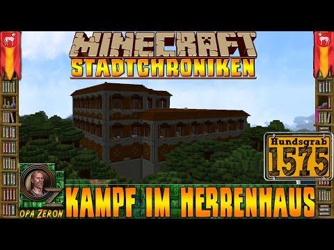 Minecraft Stadtchroniken [#1575] Kampf im Herrenhaus [HD+Deutsch]