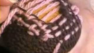 http://tinyurl.com/375cbql  Instructional video from Greenfibres - mend your socks, don't throw them out!