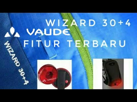 Review VAUDE Wizard 30+4
