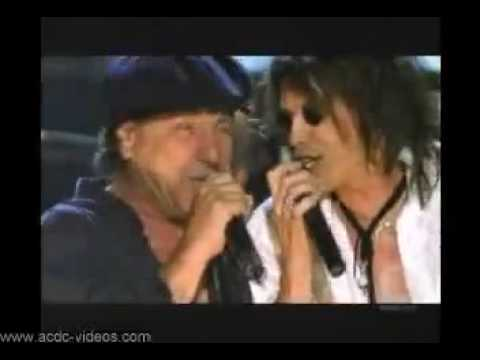 AC/DC & Steven Tyler - You Shook Me All Night Long (Live)