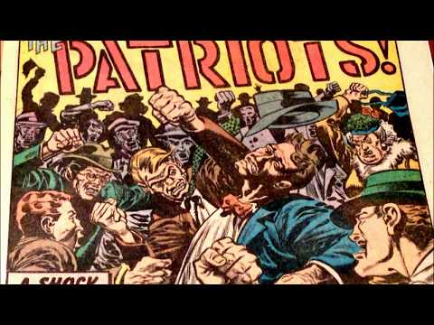 COMIC MAN PRODUCTIONS: EC SHOCK SUSPENSTORIES THE PATRIOTS COMIC BOOK STORY 1952