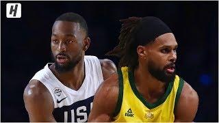 世界盃籃賽  美國隊討論!!  熱身輸但好精彩
