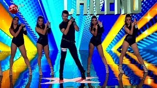 Download Compañía Beyonce Chile sorprende con su líder bailando sobre taco alto - TALENTO CHILENO Mp3 and Videos
