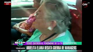 Managers se pelean por representar a la abuelita Eliana - SQP