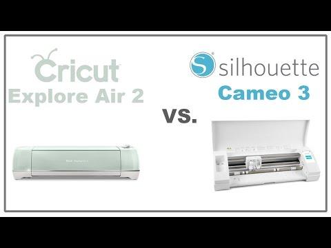 Cricut Explore 2 vs Silhouette Cameo 3