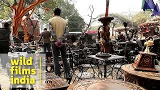 Furniture Made Of Teak Wood For Sale At Surajkund Mela