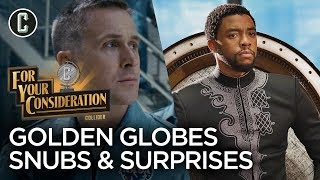 Golden Globes Nominations: The Biggest Snubs and Surprises - For Your Consideration