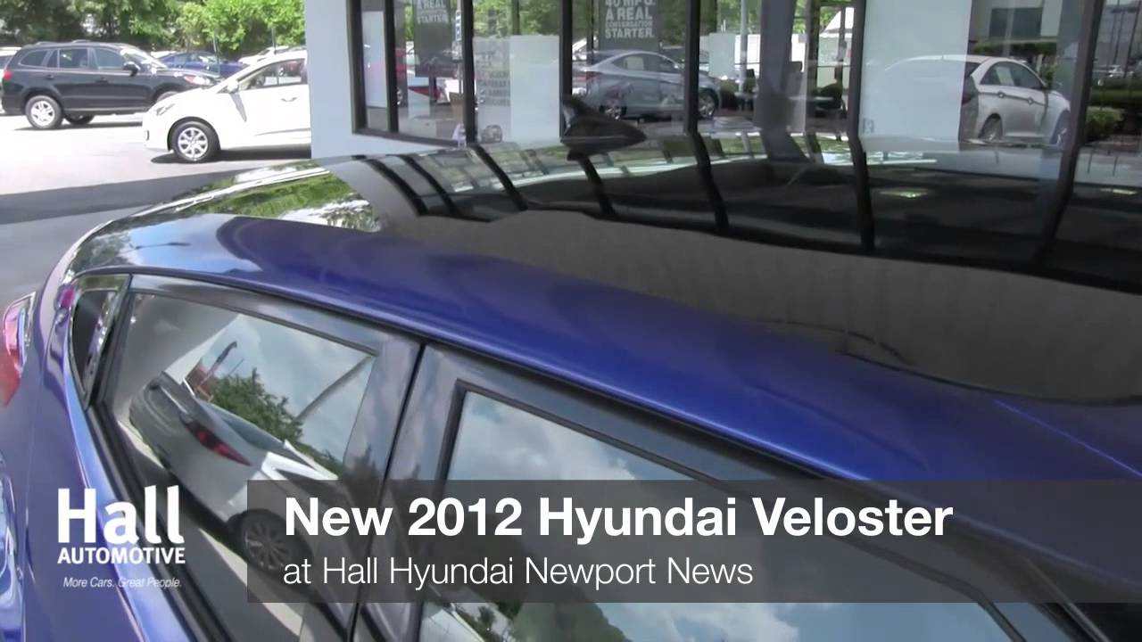 New 2012 Hyundai Veloster Video At Hall Hyundai Newport News VA | Virginia  Dealer