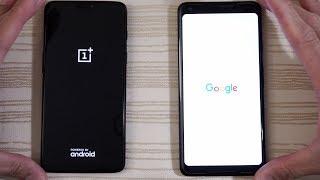 OnePlus 6 vs Google Pixel 2 XL - Speed Test!