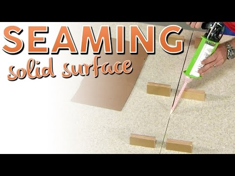 Seaming Solid Surface
