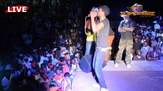 KILLER T at KINNAH BIRTHDAY DAY BASH 2015 |Video By Slimdoggz Entertainment|