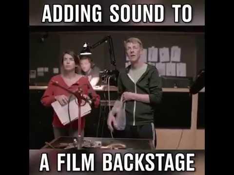 Filmlere Sesler Nasıl Ekleniyor Hiç Merak Ettiniz mi?