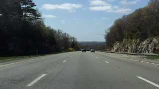 Interstate 495 - Massachusetts (Exits 25 to 22) southbound