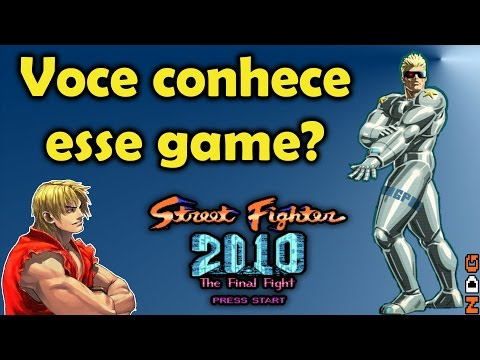 Street Fighter 2010 um jogo pouco conhecido do NES