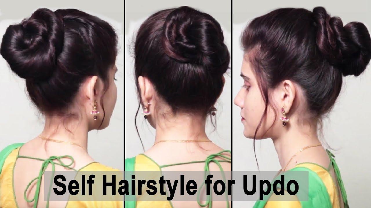 Easy Self Hair Styles For Girls Messy Bun Hairstyles Everyday