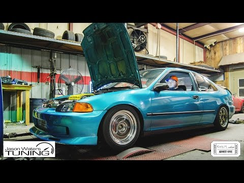 Teal EJ1 Coupe | Jason Waters Tuning