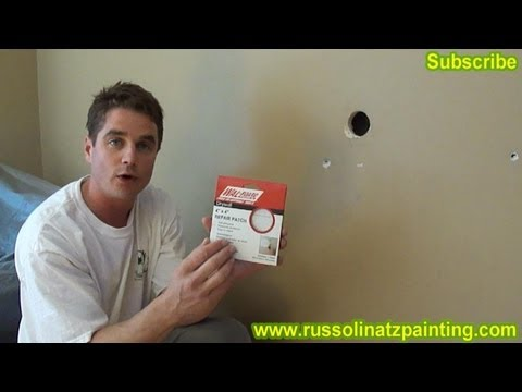 DIY Drywall Repair: How to Fix Holes and Dents in the Wall (Part 1 ...