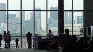 The View from Shibuya Hikarie Sky Lobby in Tokyo on May, 2015  (東京 渋谷ヒカリエのスカイロビーから見た眺め)