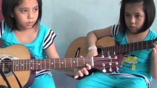hoa tau guitar thieu nhi   nhung va tu