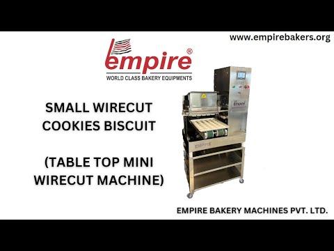 #SMALL BISCUIT MAKING MACHINE