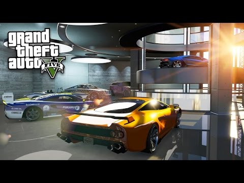 $300,000,000 MILLION DOLLAR SPENDING SPREE GTA 5!!! Pimping Out My Garage