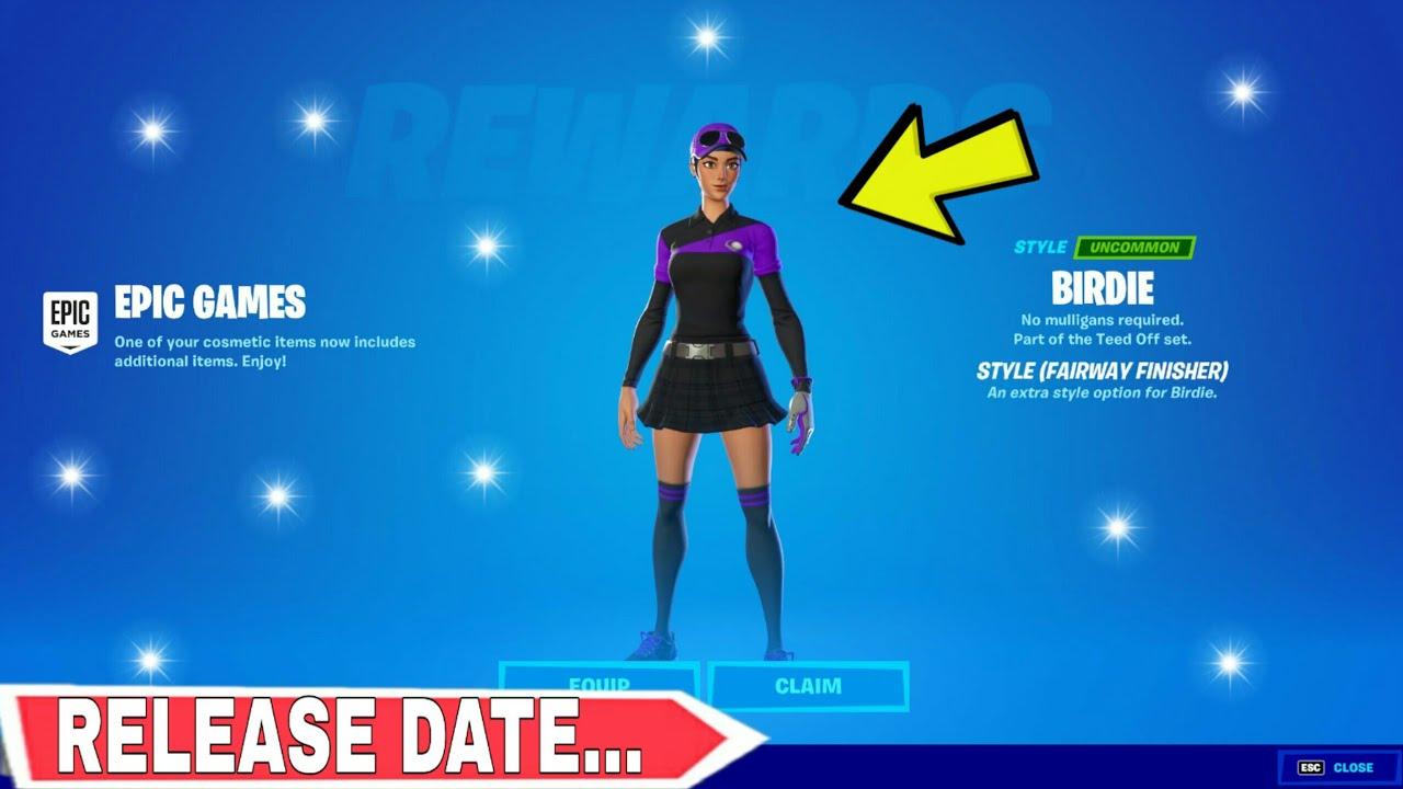 *NEW* How To Get BIRDIE SKIN (Purple Style) *RETURN RELEASE DATE* FORTNITE In Item Shop SEASON 7