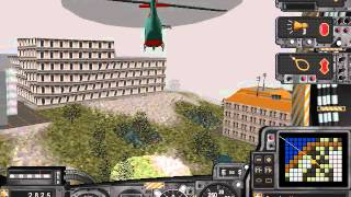 Let's Play SimCopter: Part 5: Stuck in a Building